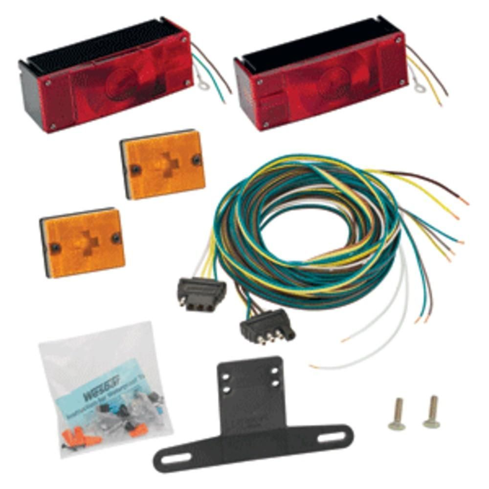 Wesbar Waterproof Over 80 Low Profile Trailer Light Kit Wiring Harness Kitthe Comes Complete With Two Tail Lights