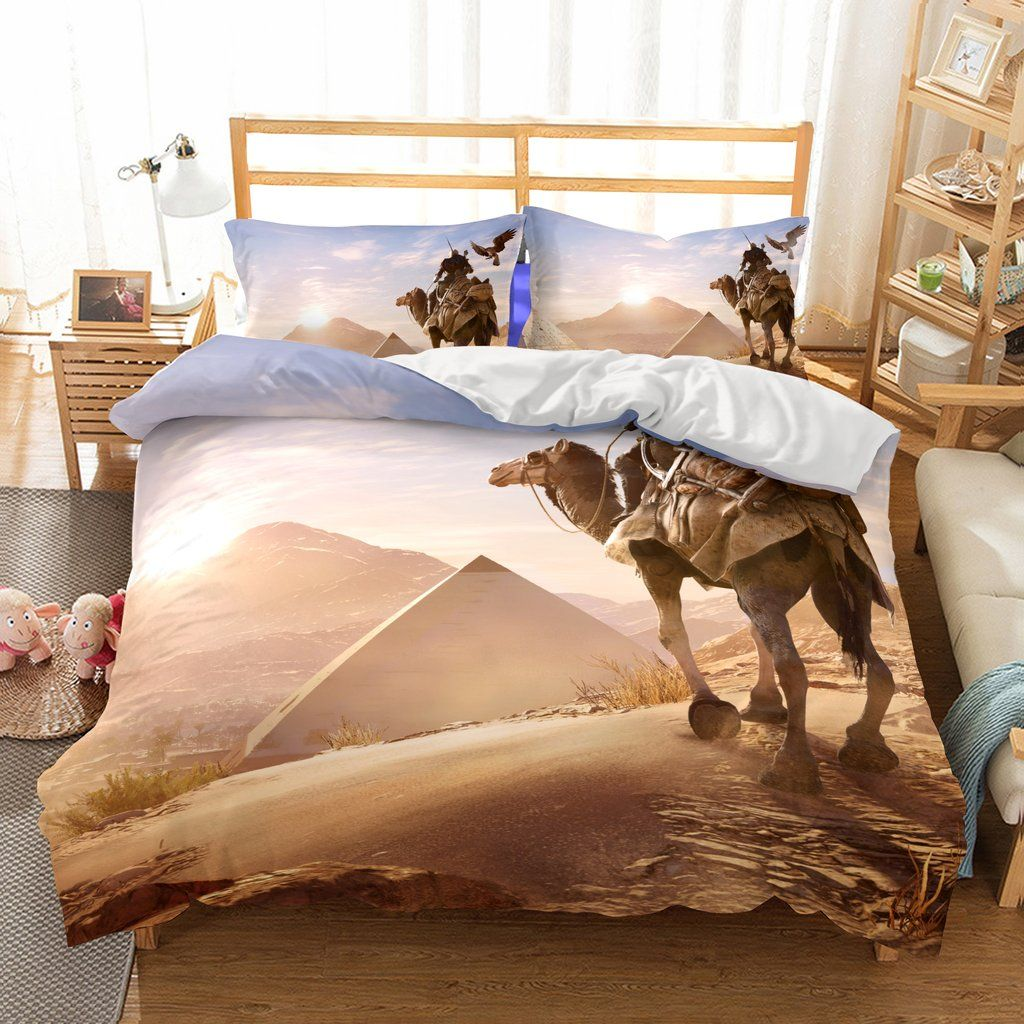 Bedding 3d Game Assassin S Creed Bayek Printed Bedding Sets Duvet Cover Set Duvet Bedding Sets