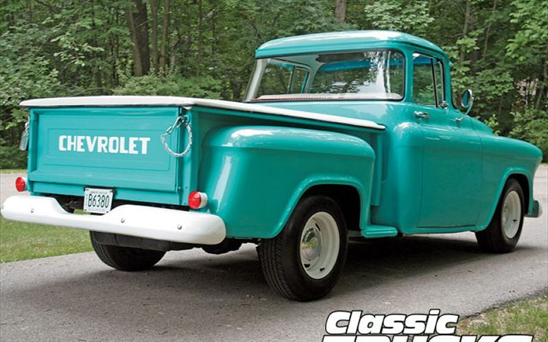 1956 Chevy Truck Chevy Pickup Trucks 1956 Chevy Truck
