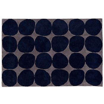 Ink Spot Rug Blue With Images