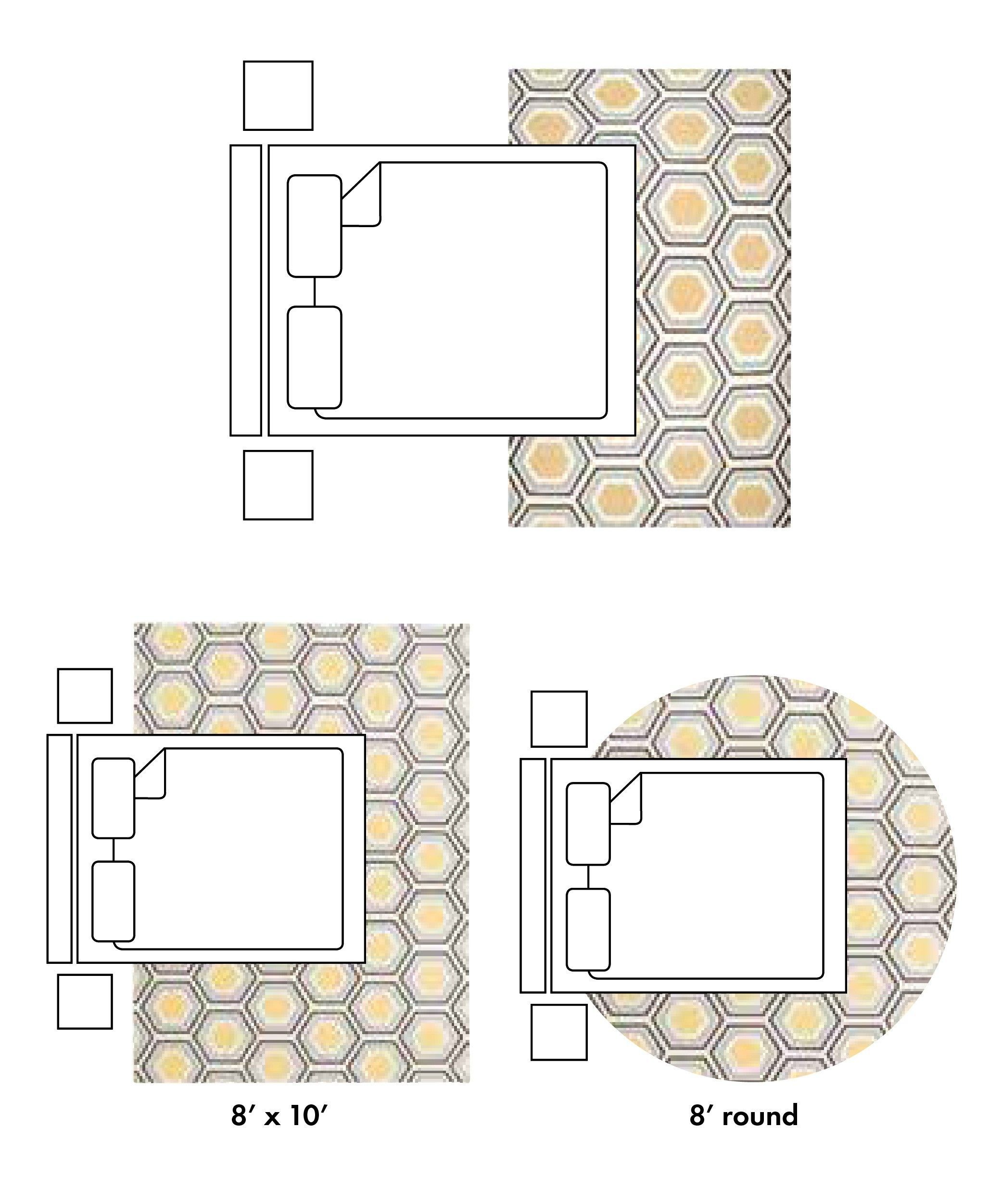 How To Pick The Perfect Rug Sizes Placing Types Perfect Pick Placing Roundcarpetbedroombeds R In 2020 Rug Under Bed Bedroom Rug Placement Standard Rug Sizes