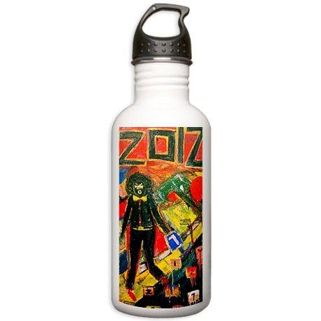 2012 BLACK DRAFT Water Bottle on CafePress.com