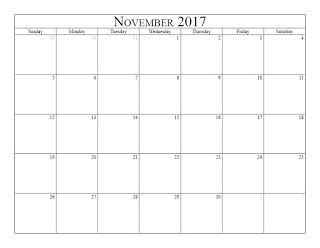 Free Printable Calendar November  Free Printable Calendar