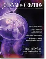 Free articles:  Journal of Creation Volume 27(1) Cover