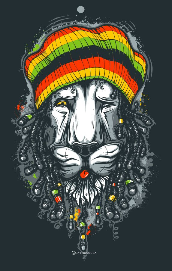 Rasta Lion T Shirt