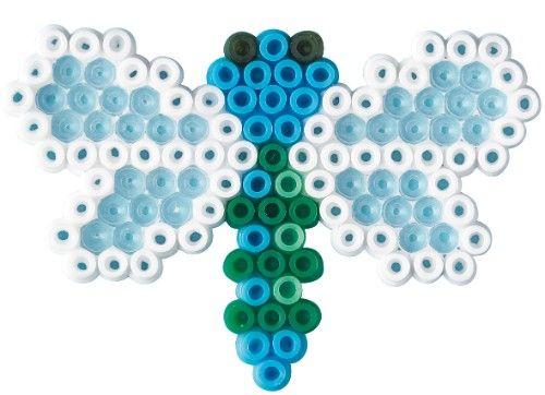 Dragonfly hama perler beads