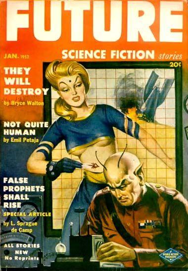 Milton Luros : Future Science Fiction Jan. 1952