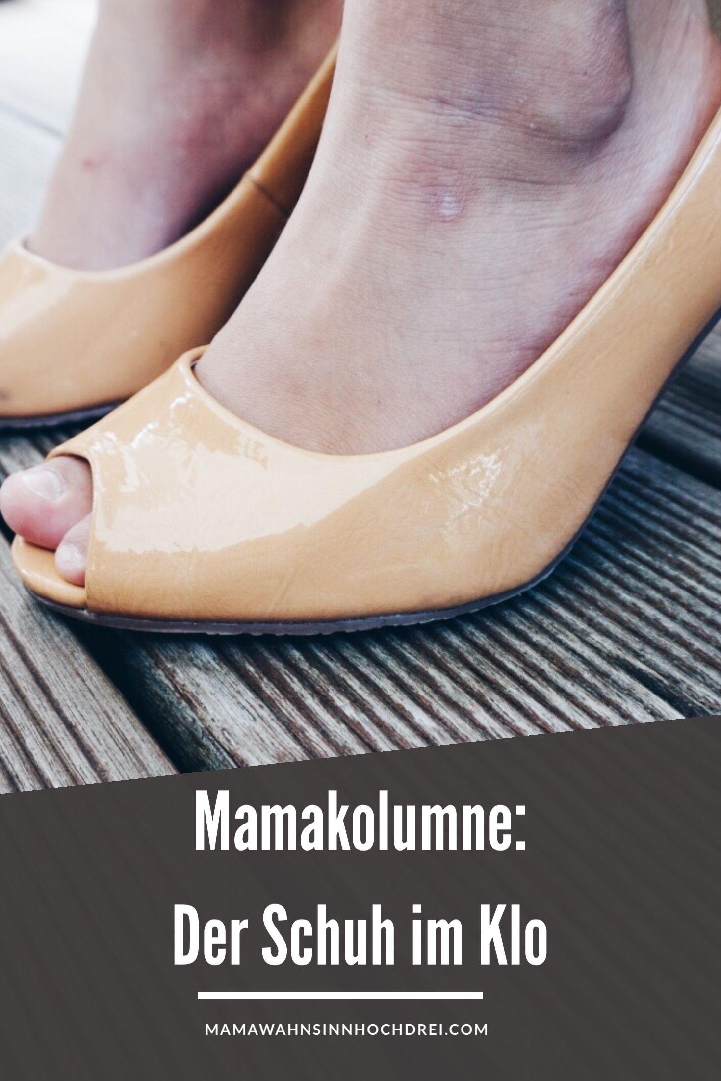 Der Schuh im Klo - eine Mamakolumne über Papa dem Helden