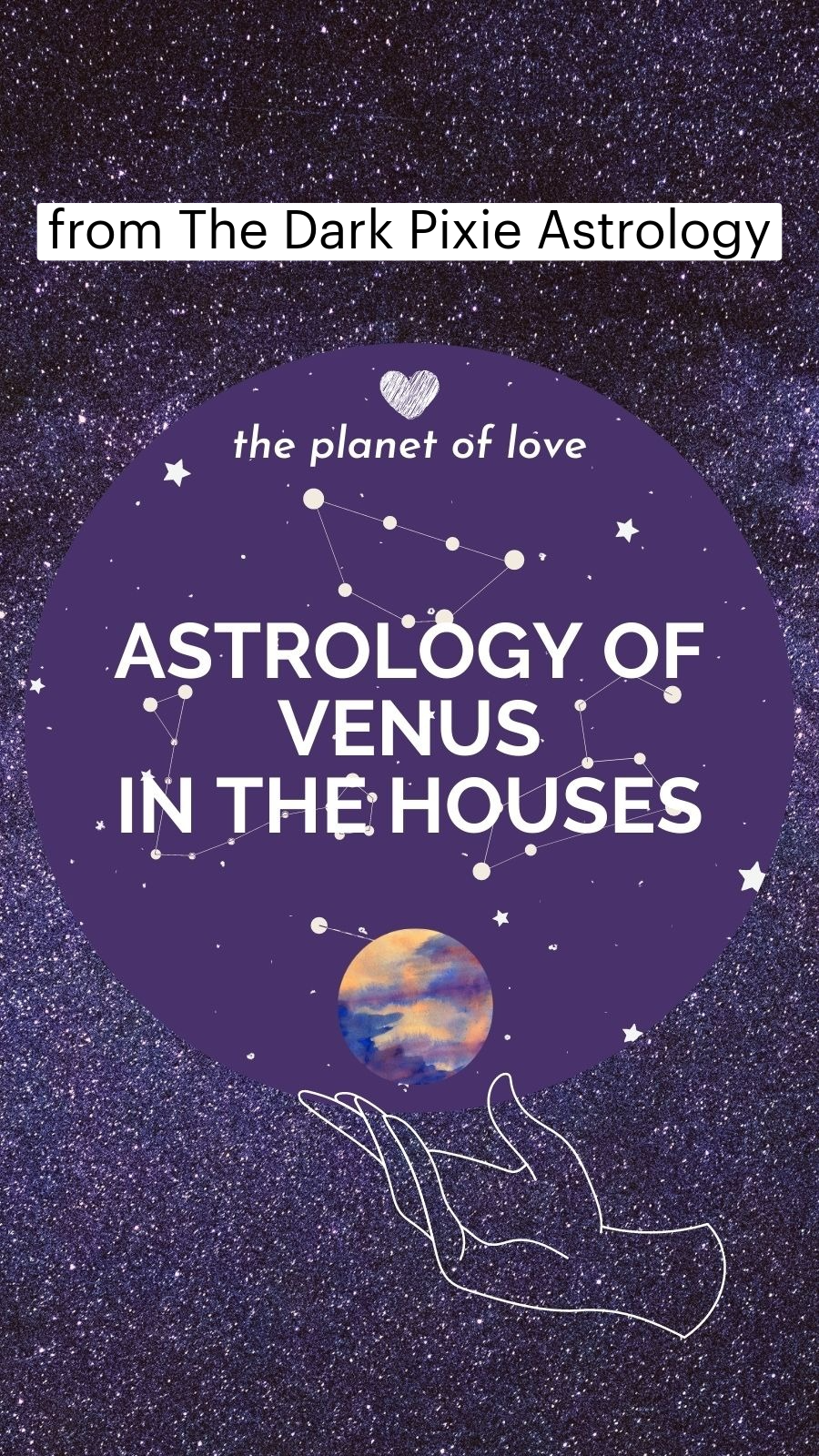 Astrology of Venus in the Houses