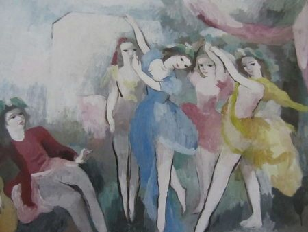059marie Laurencin Peintre Figuratif Oeuvre D Art Figuratif
