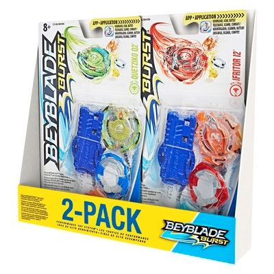 Beyblade Burst 2pk Value Starter Pack Ifritor I2 And Quetziko Q2