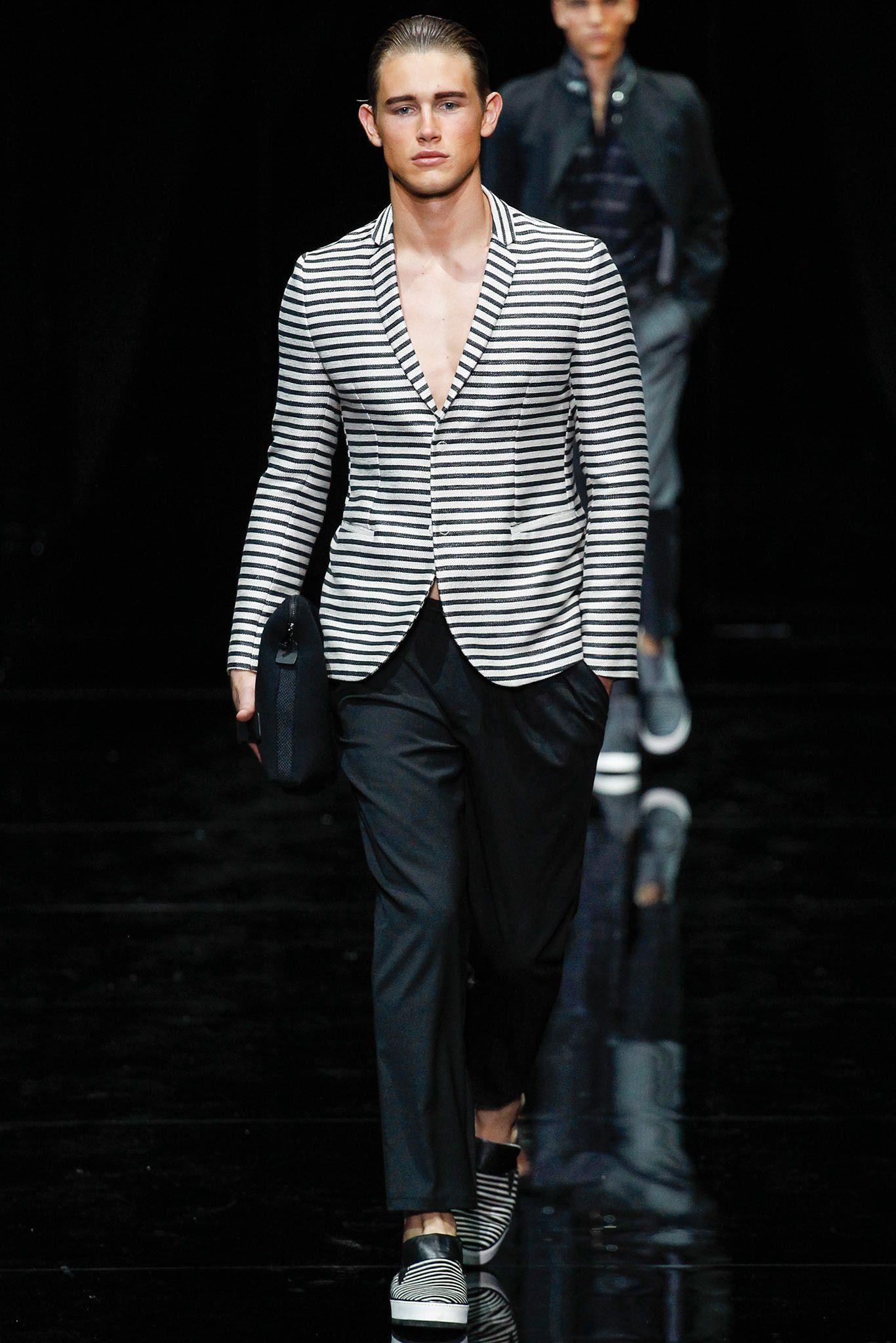 04d9b8815257 Emporio Armani Spring 2015 Menswear - Collection - Gallery - Style ...