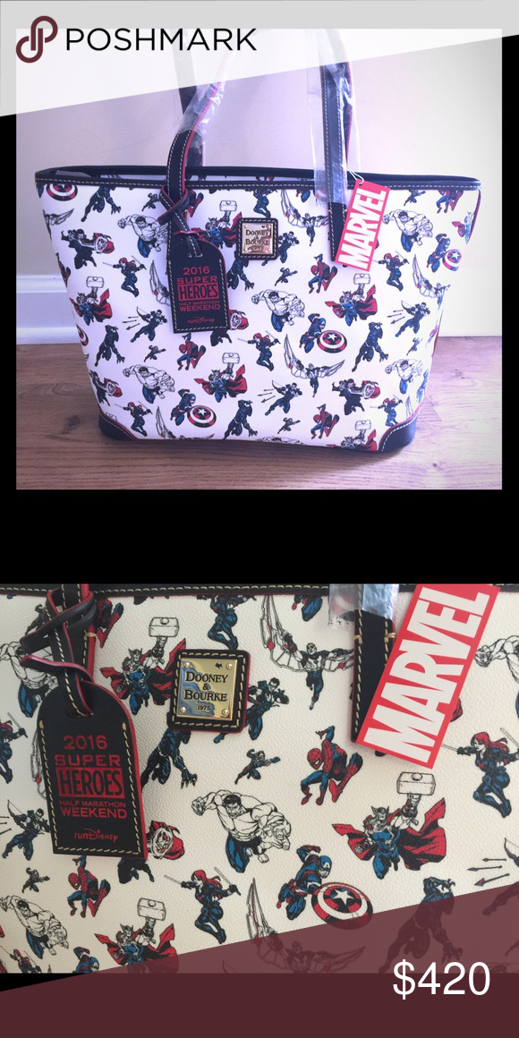66d59a3c30 Disney Dooney   Bourke 2016 Superhero Weekend New with tags - never used -  Marvel Avengers Dooney and Bourke bag Dooney   Bourke Bags Totes
