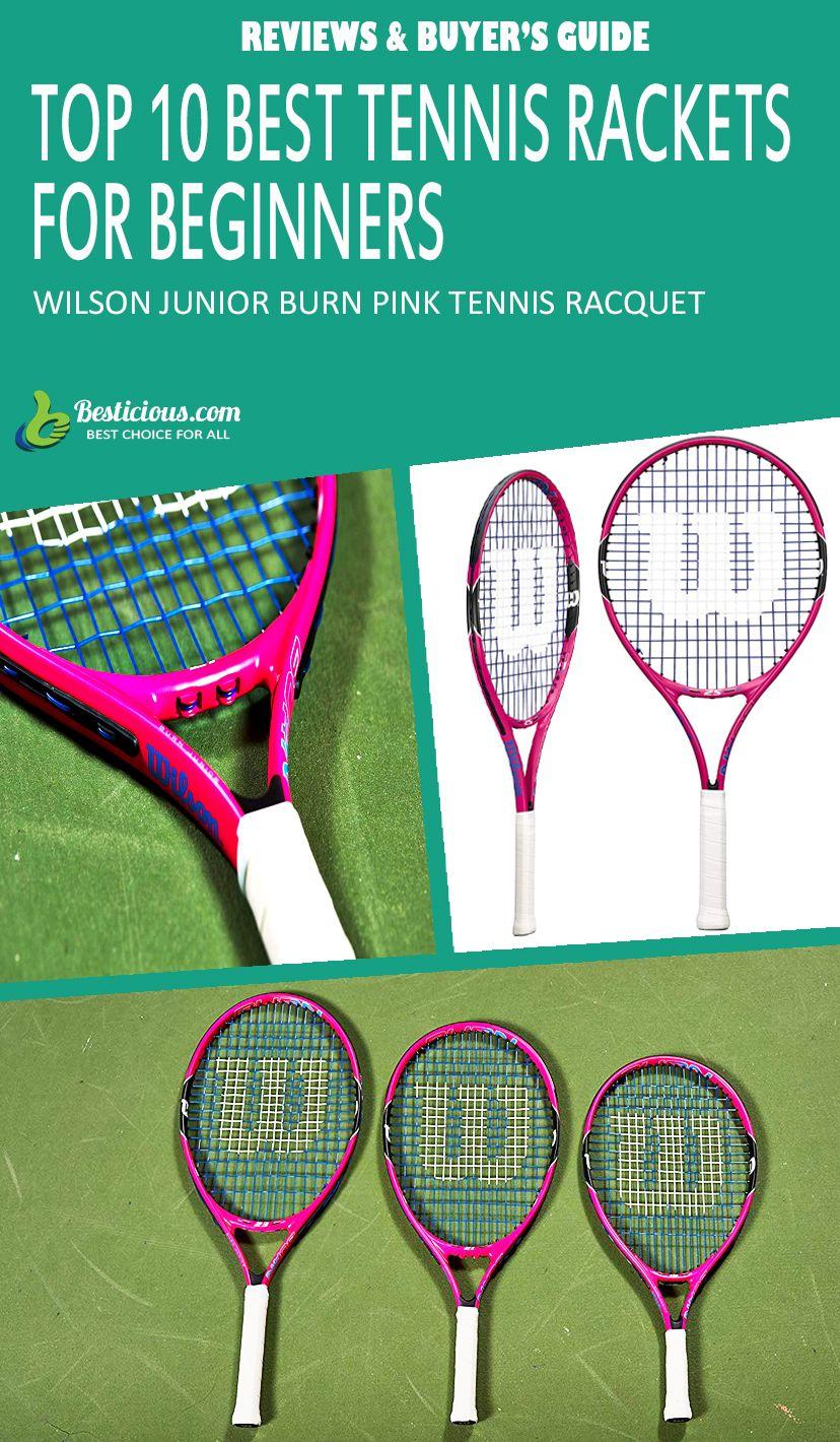 wilson junior burn pink tennis racquet Best tennis