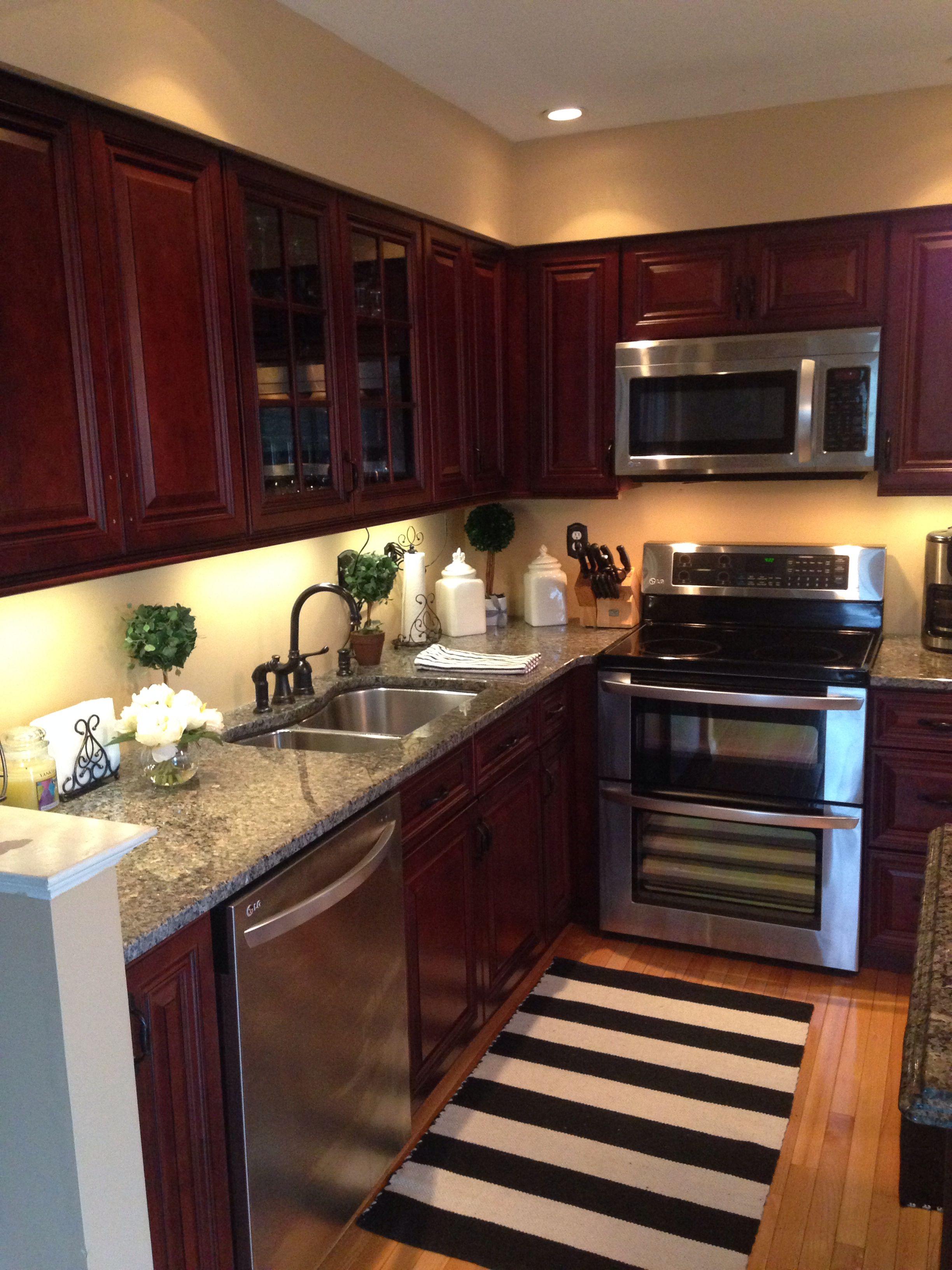 Cherry oak kitchen New house Kitchen