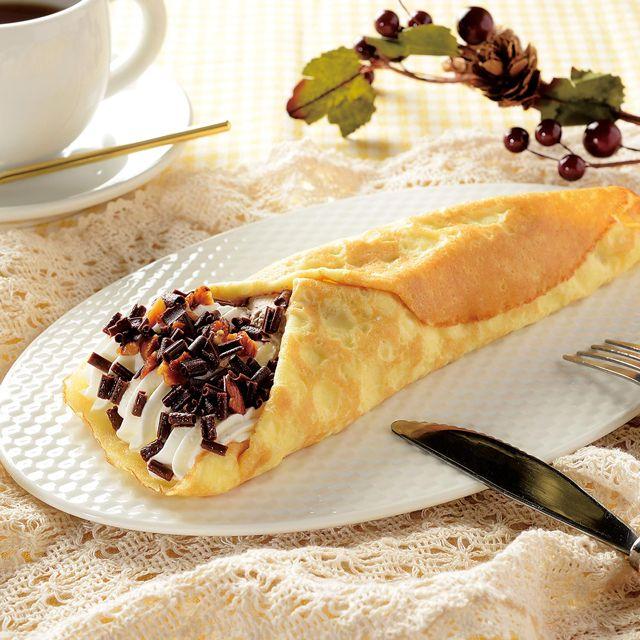 ボリューム満点の「クレープ包み チョコチップ&バナナ」が登場です♪今日のスイーツにいかがでしょうか(^^)  http://lawson.eng.mg/e5bf0