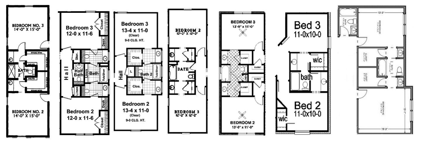 Jack And Jill Bathrooms With Central Bath Area Jack And Jill Bathroom Jack And Jill Bathroom Layout Plans