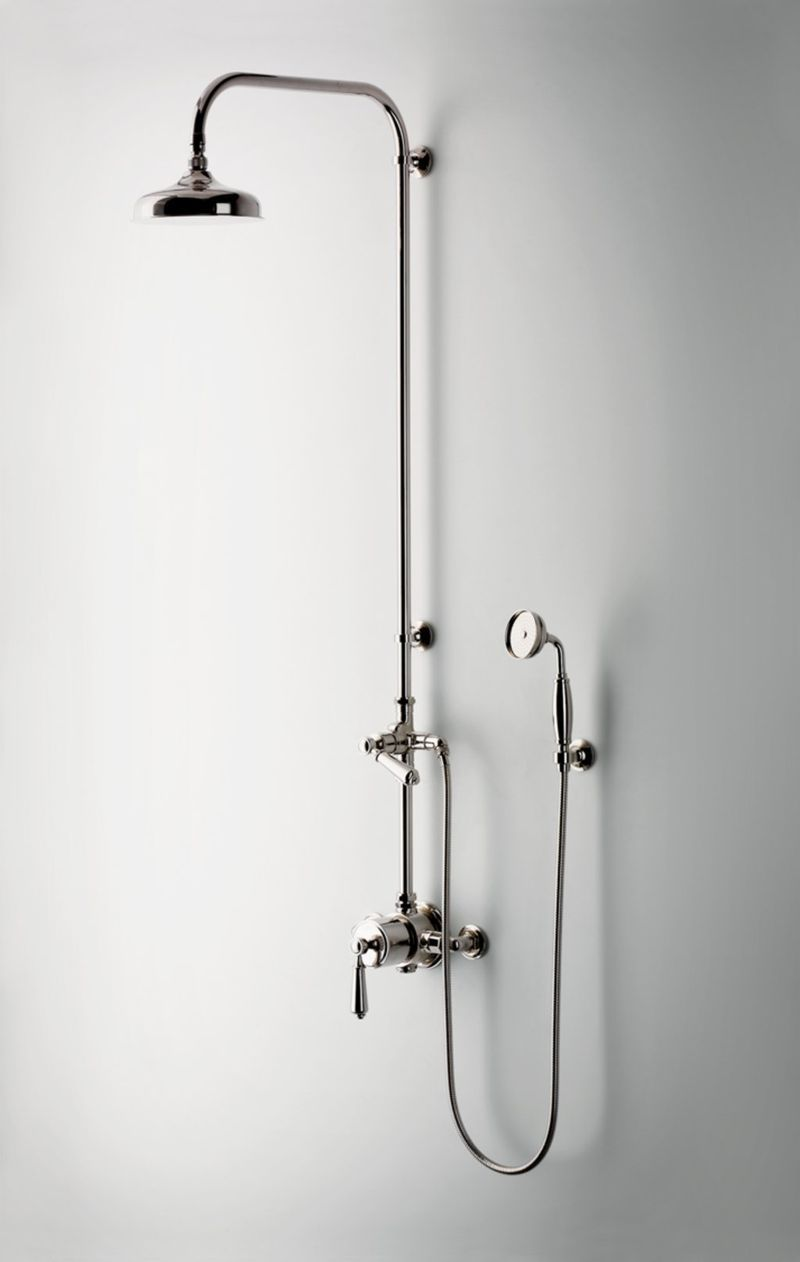 Patina Farm Moving Ahead Shower Fixtures Shower Systems Shower Rose
