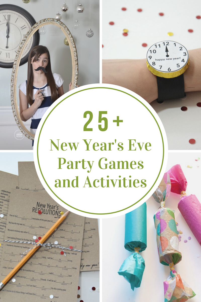 New Year\'s Eve Games and Activities | Party games, Eve game and Holidays