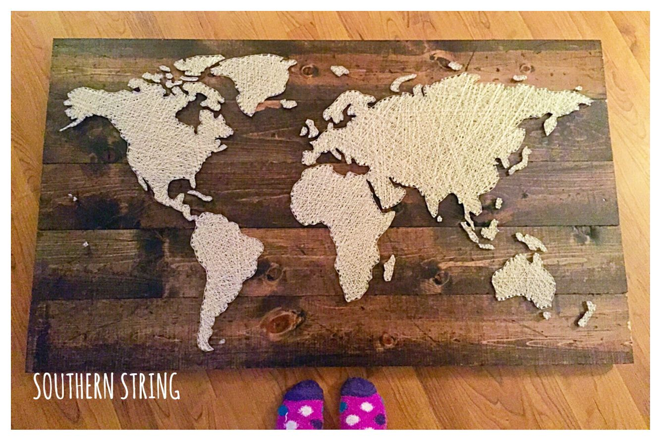 Large world map string art 4 x about 2 12 feet makes great home large world map string art 4 x about 2 feet custom unique addition to any space see more or send me a message for a board of your own on ig at gumiabroncs Gallery