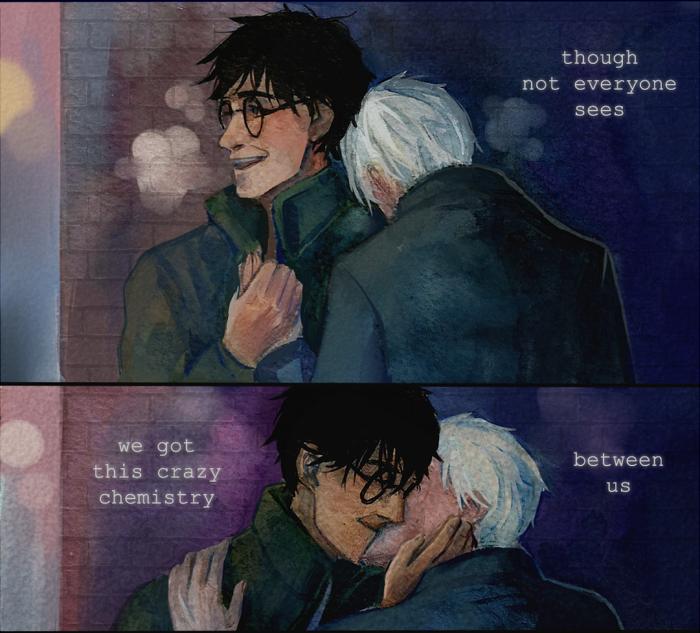 Convallarias Harry Potter Fanfiction Harry Draco Drarry Fanart