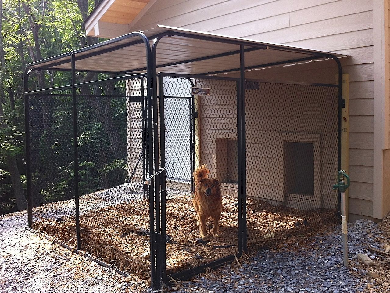 House Plans Attached Dog Run The K9kennel Series The New Standard In Dog Kennels Dog Runs Diy Dog Kennel Indoor Dog Kennel Outdoor Dog Runs