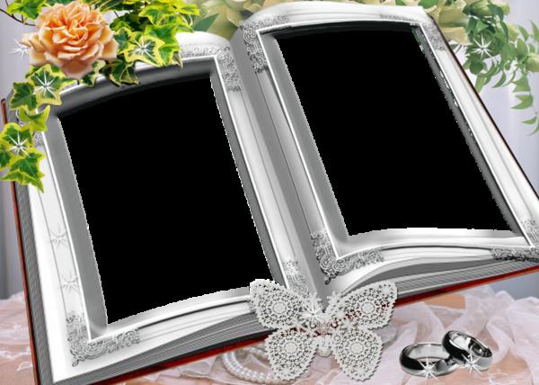 Cadre Fleurs Frame Wallpaper Powerpoint Name Wallpaper
