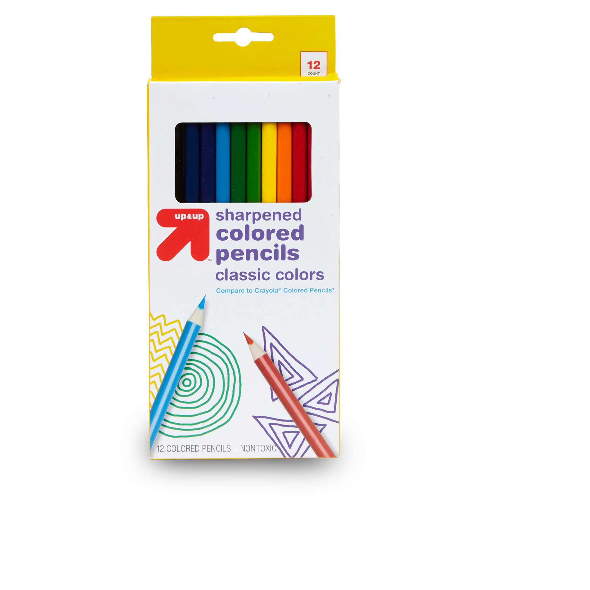 Colored Pencils 12ct Up Up Colored Pencils Crayola Colored