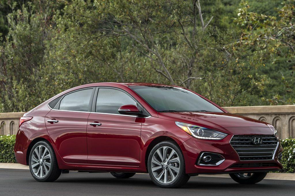 2018 Hyundai Accent First Look Hyundai accent, Hyundai