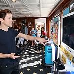 Matt on TV Guide Yacht during the Comic-Con Day 3