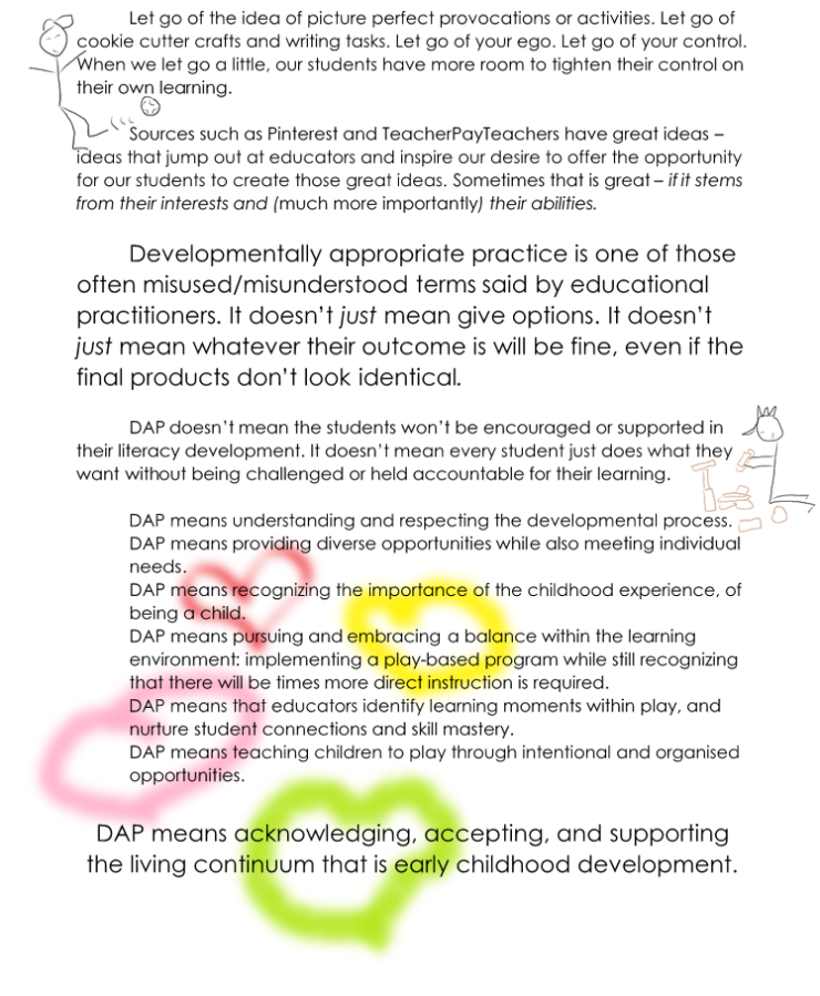More On Developmentally Appropriate >> Developmentally Appropriate Practice Dap A Place To