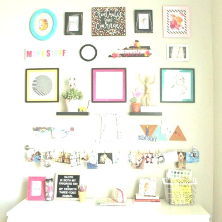 Easy & Inexpensive DIY Picture Frame Mats from Glitter