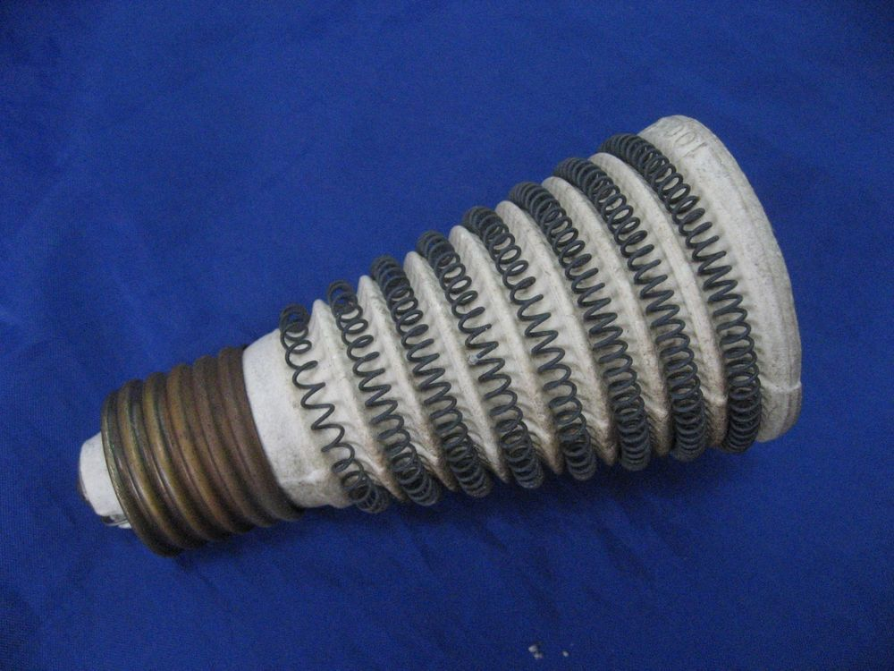 Simplex Sunbowl Heater Wire Coil Heating Element Ceramic Light Bulb Socket Ceramic Light Heating Element Light Bulb
