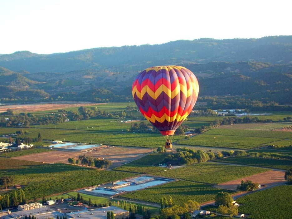 Napa Valley, CA Hot air balloon optional. Napa