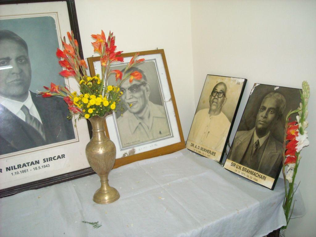 Inside Kali Dutt memorial hall, NRSMC, Calcutta.