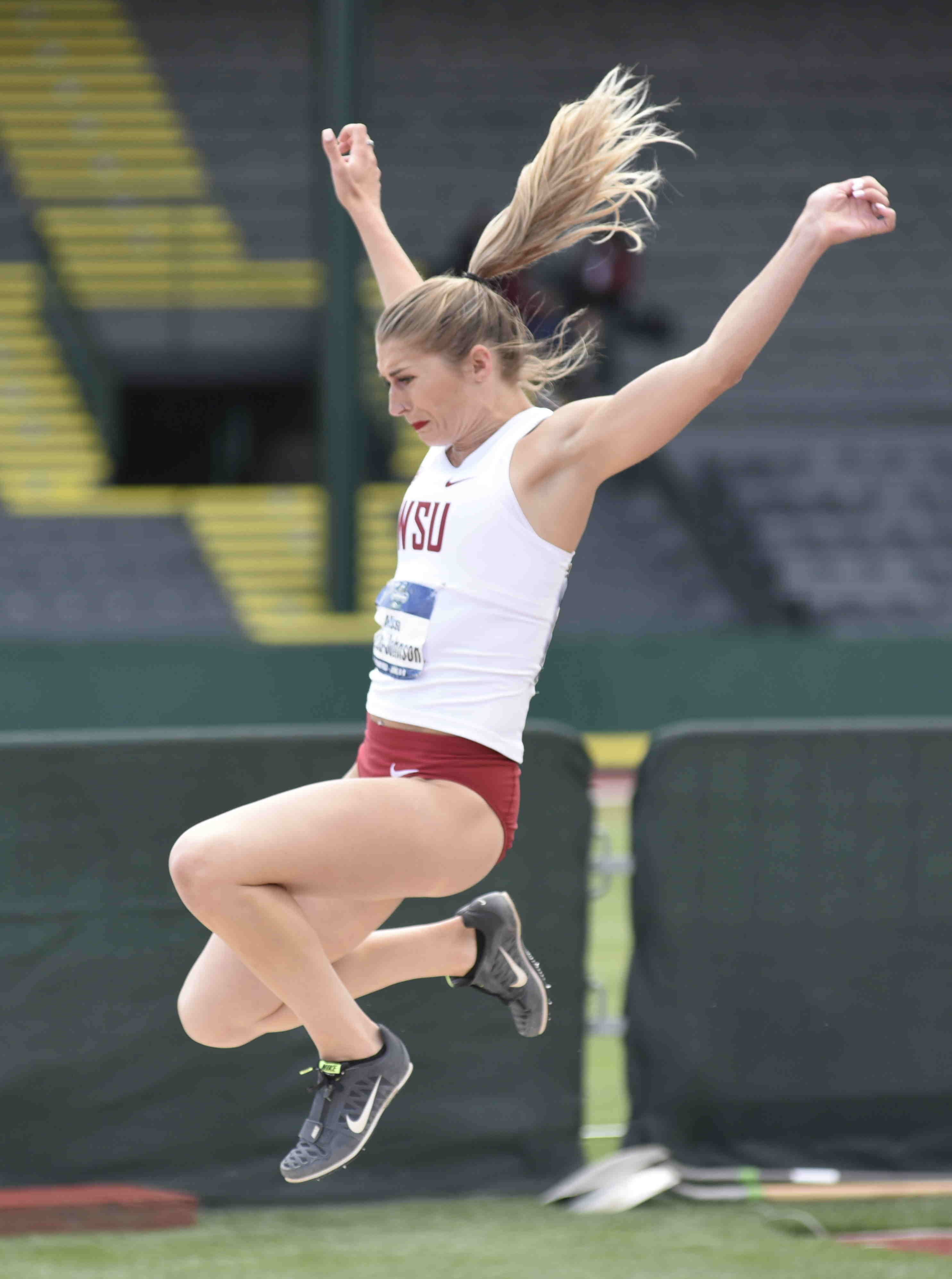 Washington State S Alissa Brooks Johnson Named To Team Usa For Thorpe Cup Team Usa Johnson Athlete