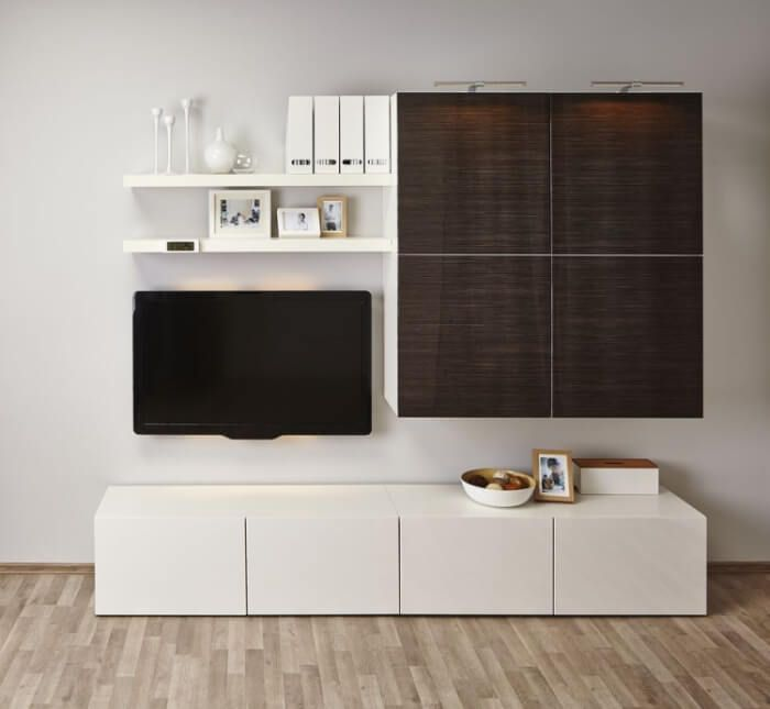 meuble besta ikea rangement modulable en 27 id es top appartement etagere pinterest. Black Bedroom Furniture Sets. Home Design Ideas