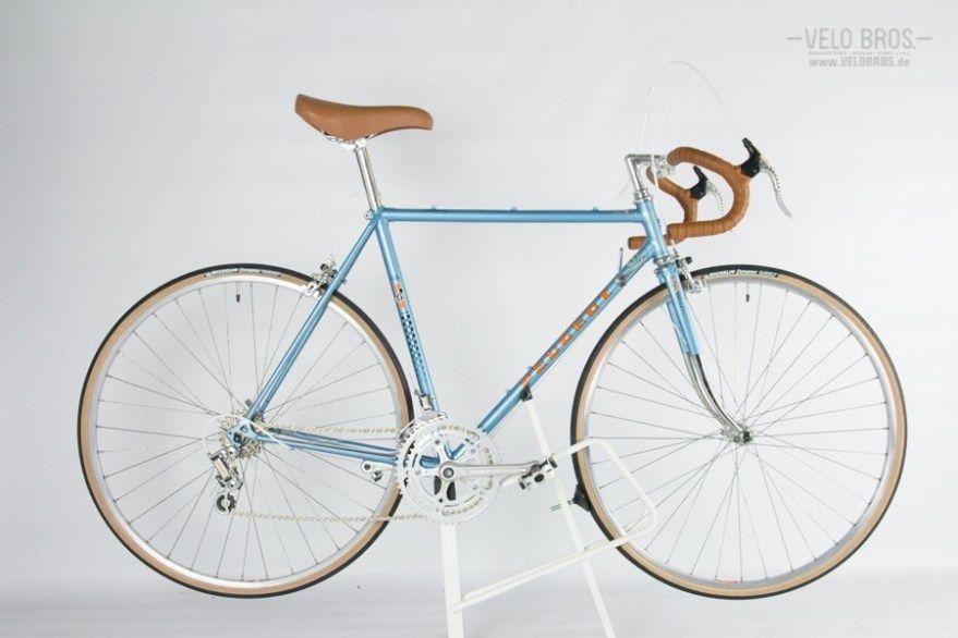 Peugeot Course Light Metallic Blue Simplex Vitus 52cm