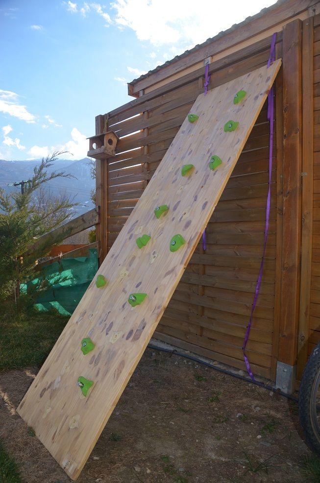construire mur escalade bébé DIY mur escalade enfant Pinterest