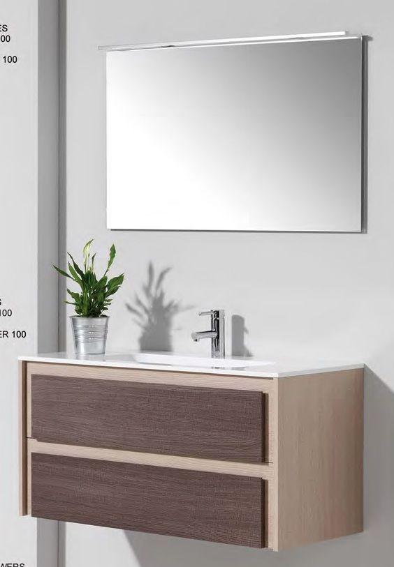 Lavabos para baños con mueble empotrado - sin patas Loft room