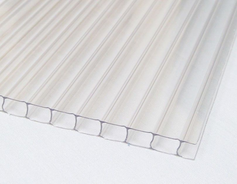 8mm Clear Twinwall Polycarbonate Sheet