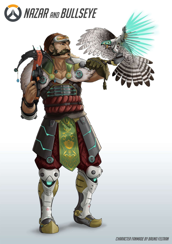Overwatch Character Design Concept Art : Artstation nazar bullseye overwatch fanmade