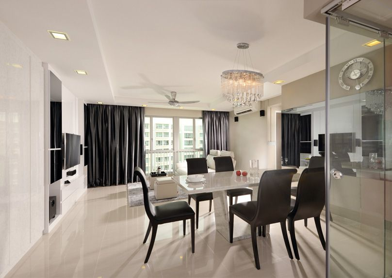 Hdb 4Room Flat With A Simple And Straightforward Aesthetic Mesmerizing Hdb 4 Room Living Room Design Design Decoration