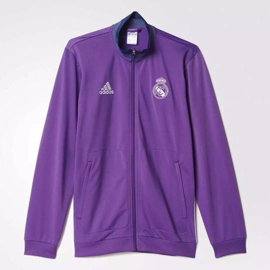 Real Madrid 16/17 Purple Soccer Jacket