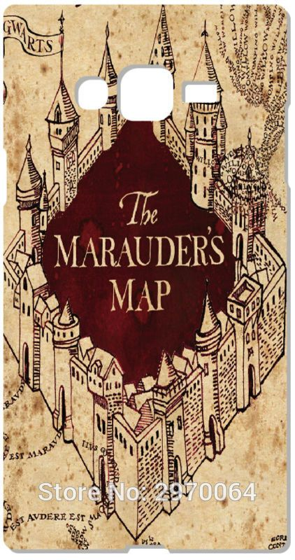 2017 Harry Potter Marauders Map Phone Case For Samsung Galaxy A3 A5 ...