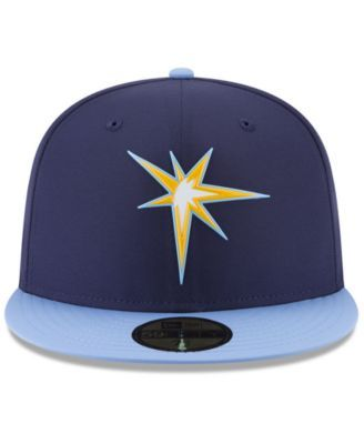 promo code 69a0a ac5f5 New Era Boys  Tampa Bay Rays Batting Practice Prolight 59FIFTY Fitted Cap -  Blue 6 3 8