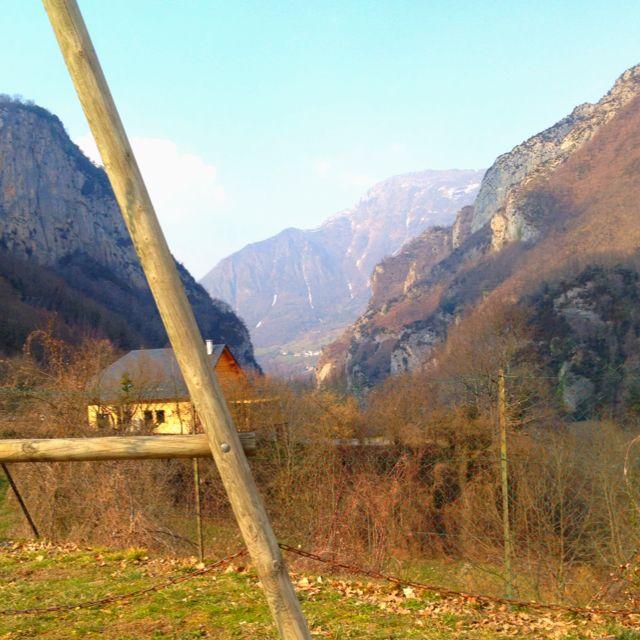 Borce en automne - Vallée d'Aspe, Pyrénées Atlantique