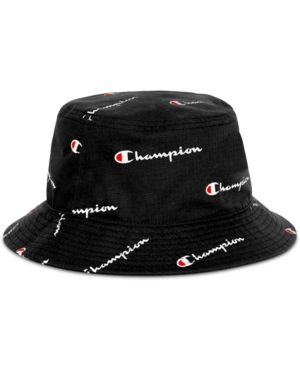 a783e373 Champion Men's Logo Script Bucket Hat - Black L/XL | Products in ...