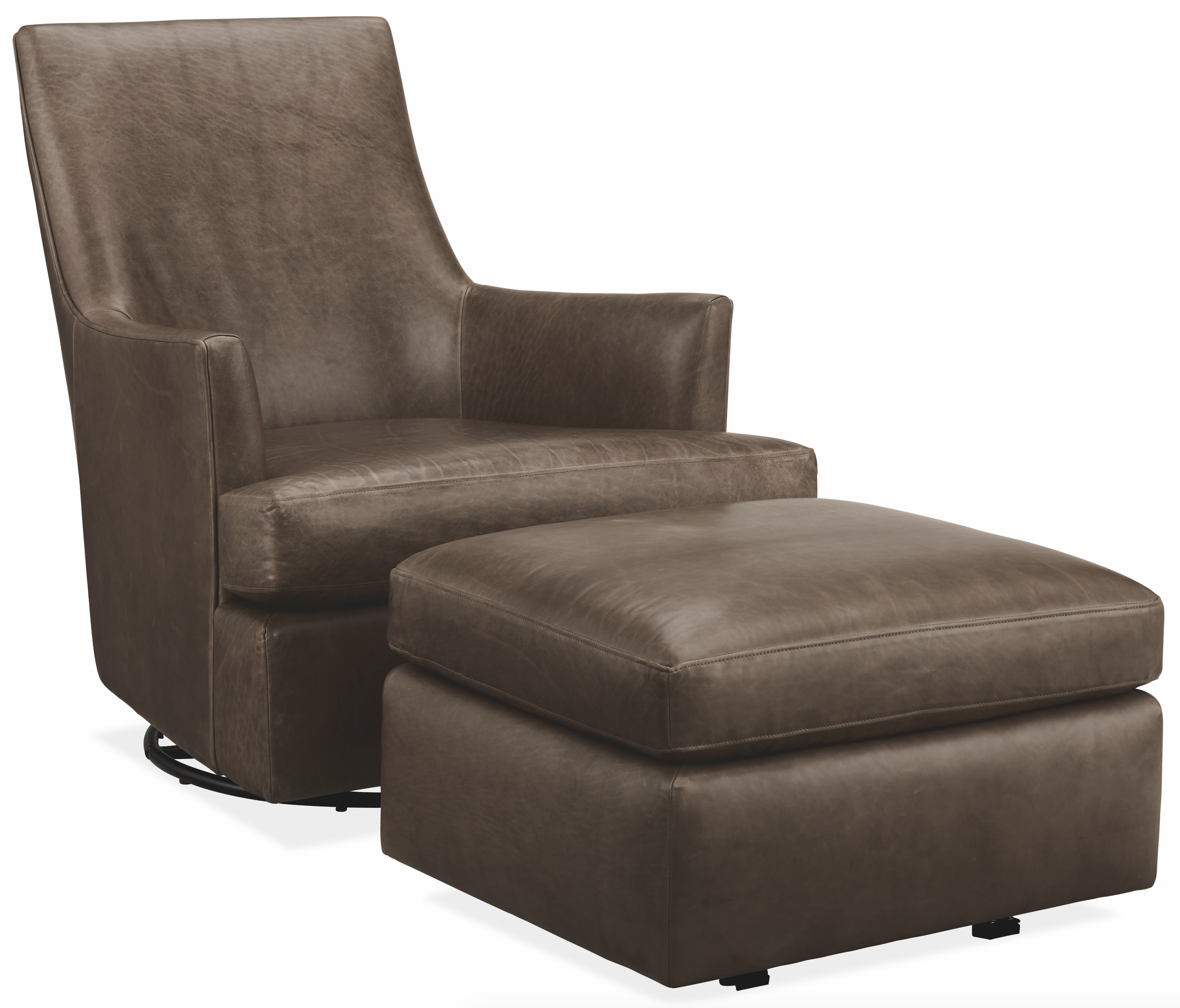Nadine Leather Chairs Ottomans Modern Accent Lounge Chairs Modern Living Room Furniture Room Board In 2020 Modern Furniture Living Room Modern Lounge Chairs Chair