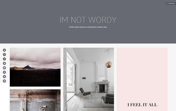 50+ Best Free Tumblr Themes 2018 for Clean Portfolio, Gags